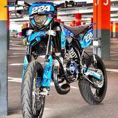 🔵 Belle config pour cette Sherco dans sa jolie robe bleue 100% perso 😎🔥  #gotamdesign #moto #ktm #husqvarna #yamaha #kawasaki #suzuki #honda #beta #derbi #sherco #fantic #gilera #rieju #bikelife #supermot #motocross #enduro #50cc #85cc #125cc #250cc #300cc #450cc #500cc #2stroke #4stroke #ride #grenzgaenger #chrome