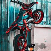 #gotamdesign #moto #ktm #husqvarna #yamaha #kawasaki #suzuki #honda #beta #derbi #sherco #fantic #gilera #rieju #bikelife #supermot #motocross #enduro #50cc #85cc #125cc #250cc #300cc #450cc #500cc #2stroke #4stroke #ride #grenzgaenger #chrome