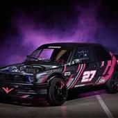 Félicitations à notre pilote @boris_ramos_drift pour sa première place 🥇 au Drift&Club sur le circuit du Pas de la Case à Andorre 🏆💪  #drift #circuit #car #race #winner #covering #andorra #pink #graphickit #gotamdesign